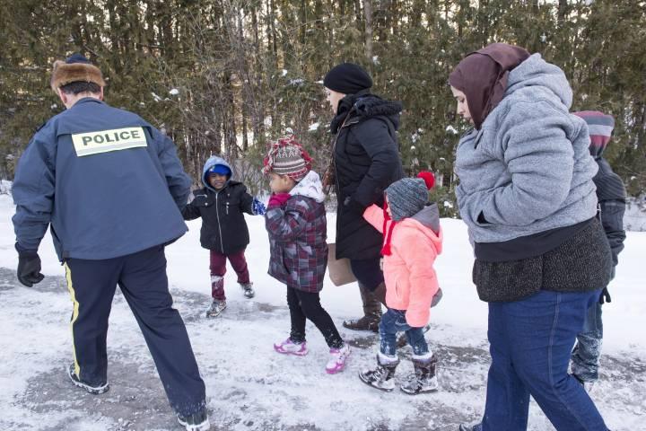 Di cư bất thường tại Canada đạt con số thấp nhất trong năm qua